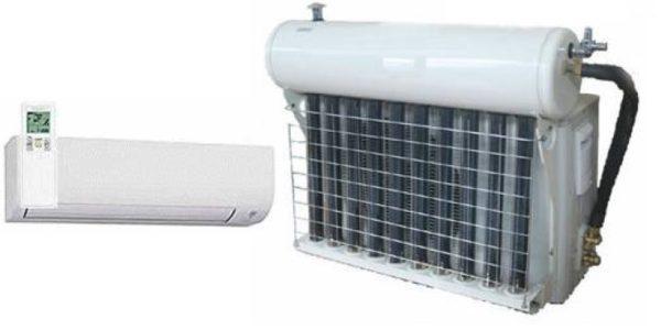 Aire acondicionado solar-eléctrico