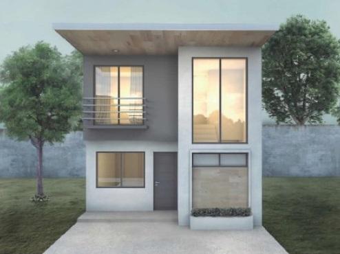 Vivienda modular de 80 metros cuadrados modelo AXM-800