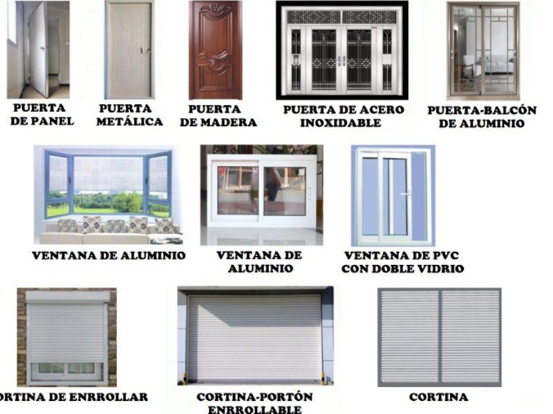 puertas y ventanas casas modulares