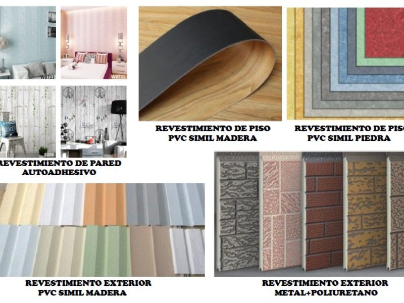 revestimiento de pisos y paredes casas modulares