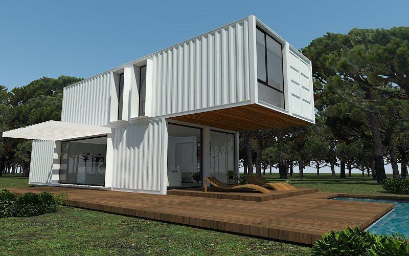 casas de contenedores ISO